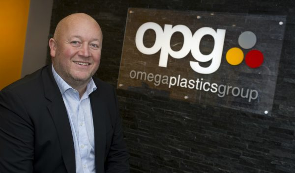 Dave Crone, Executive Chair at Omega Plastics Group.