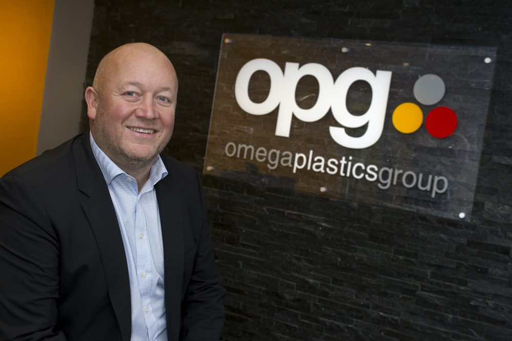 Dave Crone, Group Managing Director at Omega Plastics Group.