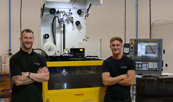 Martyn Musgrave - Toolmaker and Luke McMorris - Apprentice Toolmaker
