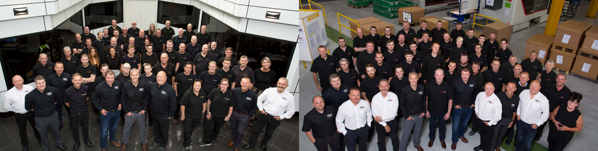 Teams at Omega Plastics and Signal Plastics