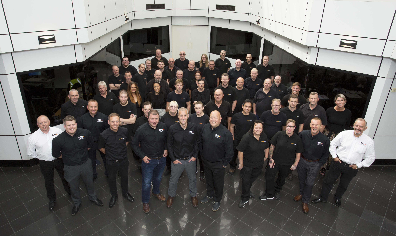 The team at Omega Plastics