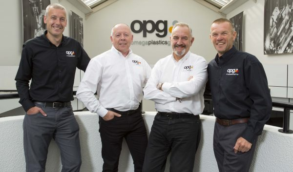 Craig Swinhoe – Group MD, Paul Ellison – BDM, Norman Hoggett – Technical Sales Director and Andy Russell – BDM