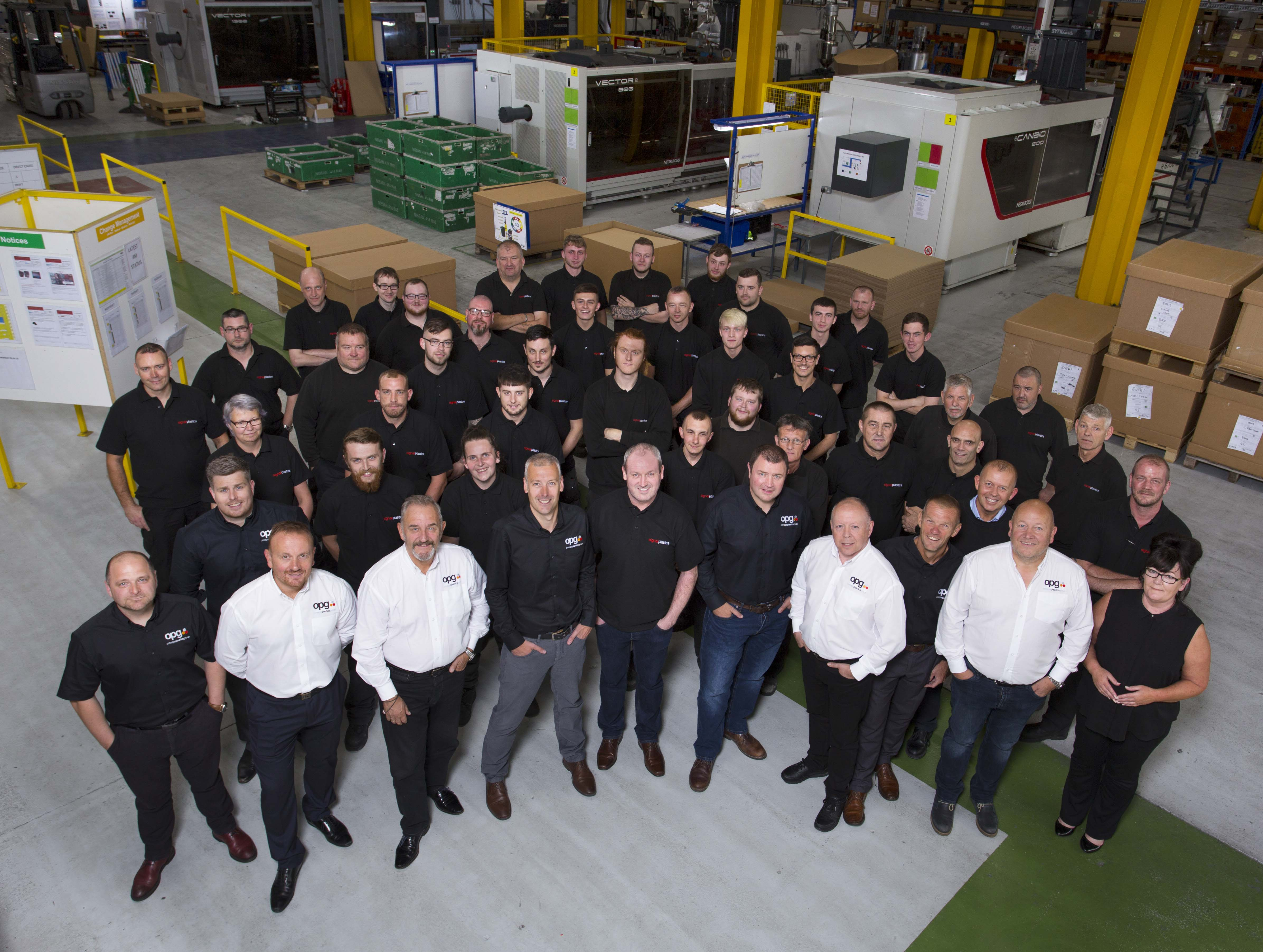 The team at Signal Plastics