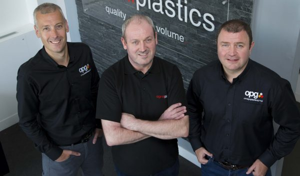 Craig Swinhoe – Group MD, Ron Dunlop – Operations Manager at Signal Plastics and Julian Jamieson – Group Operations Director
