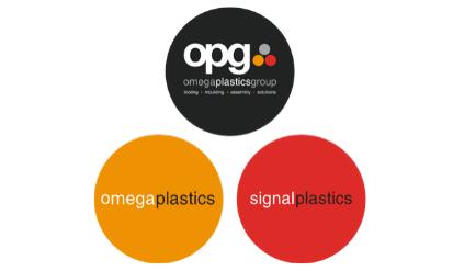 OPG, Omega Plastics and Signal Plastics logos